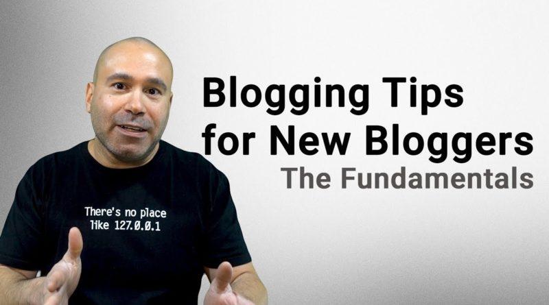 Blogging Tips for Beginners - WordPress Website & Blog Fundamentals