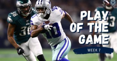 Cowboys Score in First 4 Minutes vs Eagles | Play of the Game | Blogging the Boys