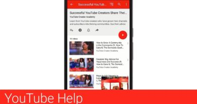 Create and edit playlists in the YouTube Android app