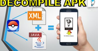 Decompile APK Get Java + Xml Change Apps