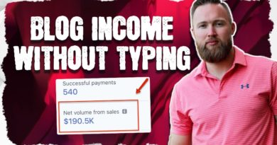 How To Make Money Blogging Without Typing (2019)