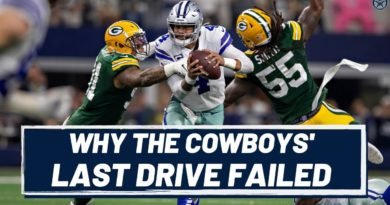How the Cowboys Screwed Up Their Last Drive Against the Packers | Blogging the Boys
