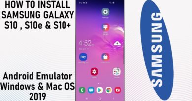 How to Install Samsung Galaxy S10 Android Emulator 2019 Guide