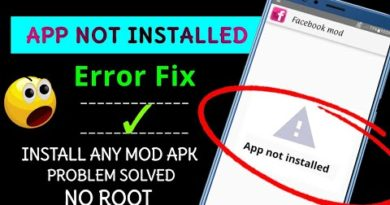 How to fix apk is not installed in android