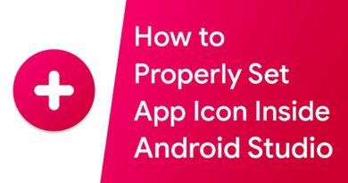 How to properly set App icon for an Android App using Android Studio