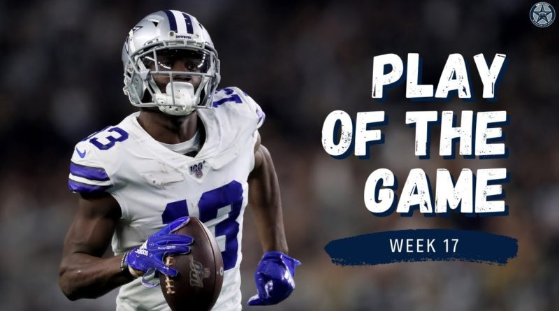 Michael Gallup Lights Up Redskins for 3 Touchdowns | Film Room | Blogging the Boys