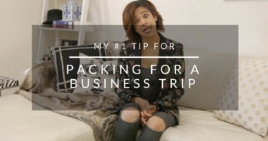 My #1 Tip For Packing For A Business Trip