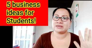 NEGOSYO TIPS: 5 BUSINESS IDEAS FOR STUDENTS! #BUSINESSTIPs