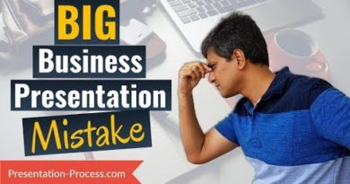 One Big Mistake to Avoid in Business Presentations (PowerPoint Tips)