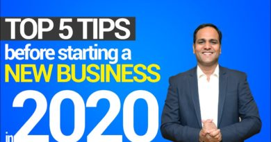 TOP 5 Business tips for new businesses in 2020 | HINDI | BSR
