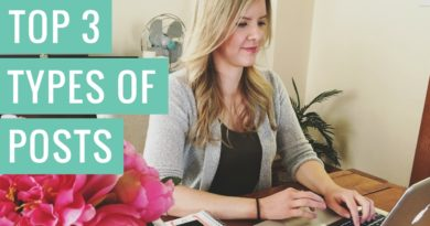 The 3 Types Of Blog Posts That Get The Most Views (+ 50 Free Post Ideas!)