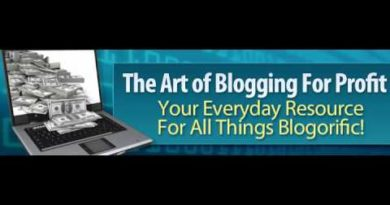 The Art of Blogging for Profit
