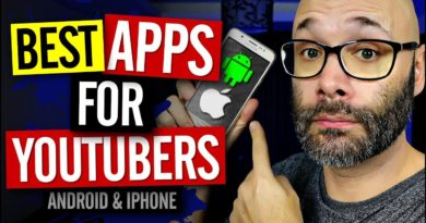 The Best Apps for YouTubers for Android and iPhone