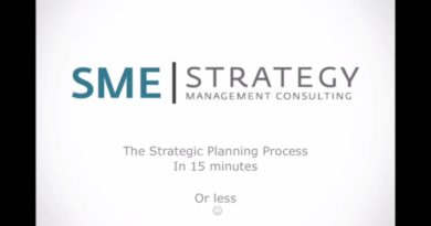 The steps of the strategic planning process in under 15 minutes