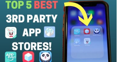 Top 5 BEST 3rd Party App Stores For iPhone/iOS! - Get Paid & Hacked Apps