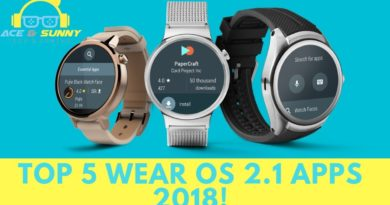 Top 5 Wear OS 2.1 Apps 2018!