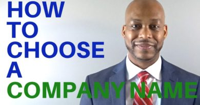 4 Tips For Naming Your Company