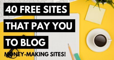 40 Free Sites That Pay You To Blog