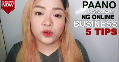 5 TIPS - STARTING A BUSINESS ONLINE | Vanessa Tinitigan | thepurpektionshop