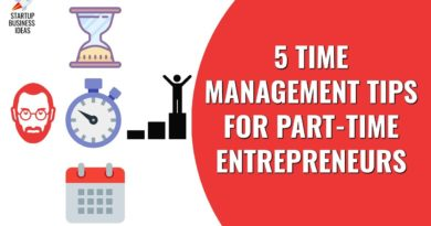 5 Time Management Tips for Part Time Entrepreneurs | Startup Business Ideas