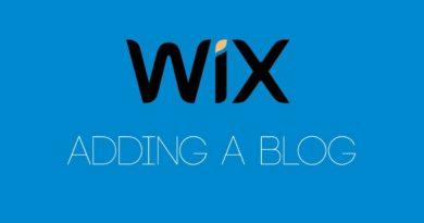Adding A Blog To Your Wix Website - Wix.com Tutorial - Wix My Website