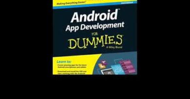 Android App Development For Dummies OUT