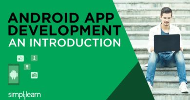 Android App Development Training | Android Tutorial for Beginners | Android Basics