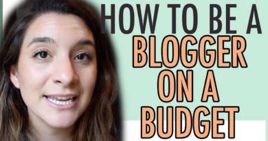 BLOGGING FOR CHEAP | WAYS TO SAVE MONEY AS A BLOGGER
