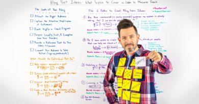 Blog post ideas - Whiteboard Friday