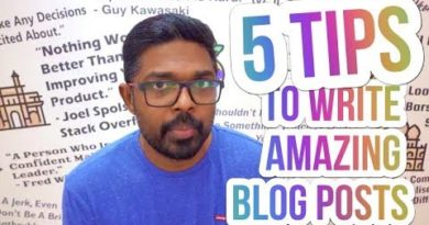 Blogging 101 - 5 Tips To Write Amazing Blog Content (For Blogging Beginners)