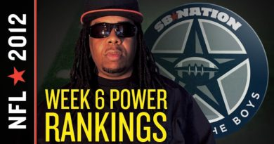 Blogging the Boys Week 6 Power Rankings: Cowboys Slip After Loss to Bears