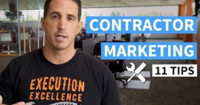 Contractor Marketing - 11 Tips