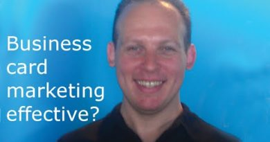 Does marketing with business cards work & How to do effective business card marketing to get clients