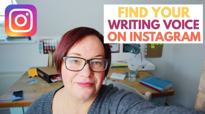 How INSTAGRAM made me a better WRITER, helped me find my WRITING VOICE & gain CONFIDENCE.
