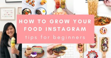 How to Start and Grow your Food Instagram in 2019 (TIPS FOR BEGINNERS!)