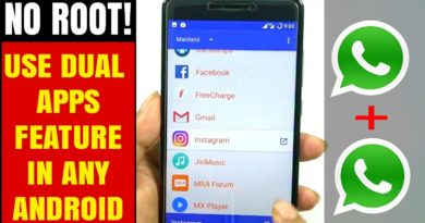 How to Use Dual Apps Feature In any Android - NO ROOT (Use 2 Whatsapp in one Phone)