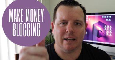 Make Money Blogging - Building A Profitable Blog.