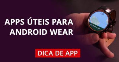 Melhores apps para Android Wear #DicaDeApp