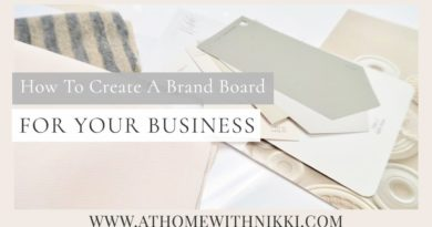 SMALL BUSINESS TIPS | How To create a brand board for your business.