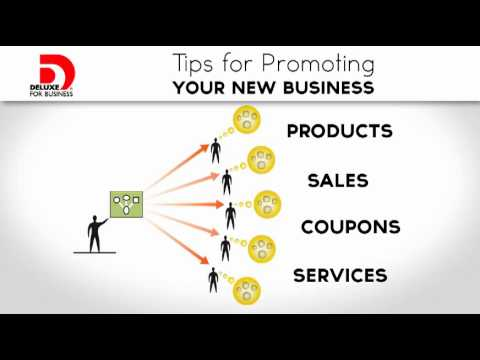 Small Business Ideas -- Tips for Promoting Your New Business