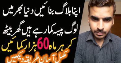 Start Blogging Business In Pakistan || Earn Money Online 2019