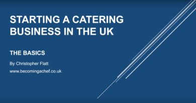 Starting A UK Catering Business. And Tips On Running A UK Catering Business