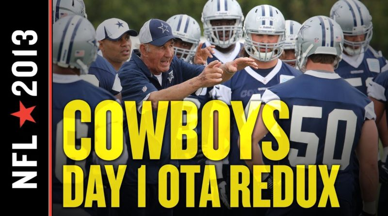 Tony Romo Present but Inactive at Day 1 of Cowboys OTAs