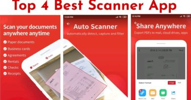 Top 4 Best Documents Scanner App For Android Mobile, Scanner HD, CamScanner, Tap Scanner, Adobe Scan