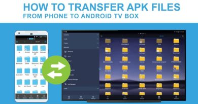 Transfer APKs from Phone to Fire TV, Shield TV or Android TV Box