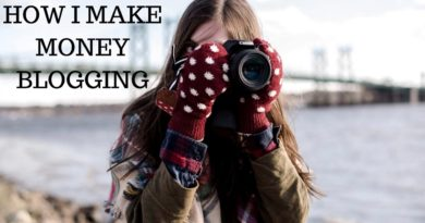 Updated: How I Make Up to $4000 a Month Blogging