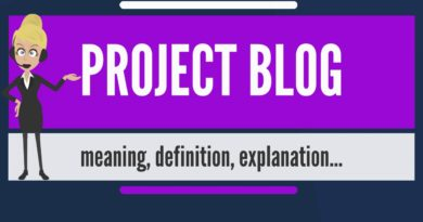 What is PROJECT BLOG? What does PROJECT BLOG mean? PROJECT BLOG meaning & explanation