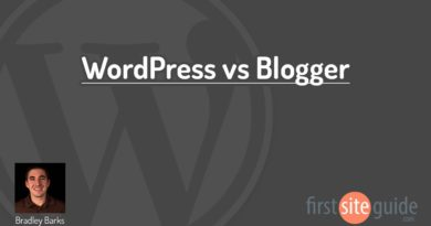 WordPress vs Blogger Blogging Platforms Comparison