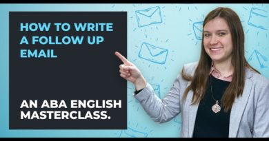 Writing Business Emails in English   Follow-up Tips