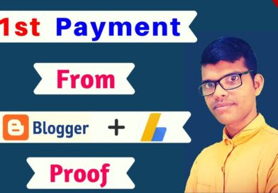 my first payment from blogging | blogging tips from a full time blogger